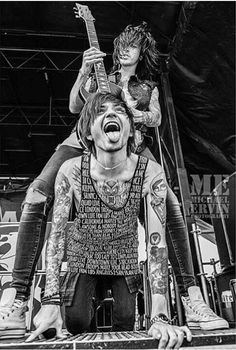 Cameron Liddell and Denis Stoff- Asking Alexandria