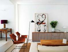 Retro Boho Chic #decor #living #room