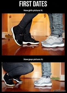 So true -__-   What boys think about first Date?