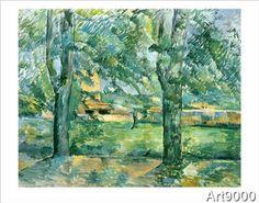 Paul Cézanne - Meadow and Farm