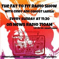 Tune into the @fattofitradio show