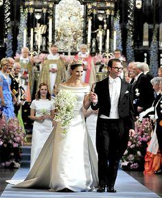 19. Juni 2010: Prinzessin Victoria von Schweden und Daniel Westling