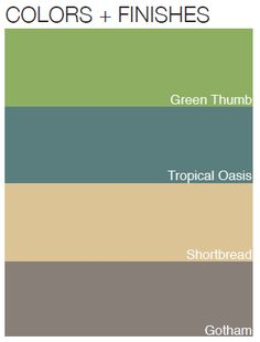 Color options that enhance tropical outdoor designs. BenjaminMoore.com