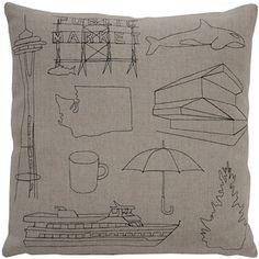 K Studio Seattle Pillow | 2Modern Furniture & Lighting