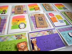 1 Kit 10 Plus Cards | Simon Says Stamp April Kit 2017 - YouTube