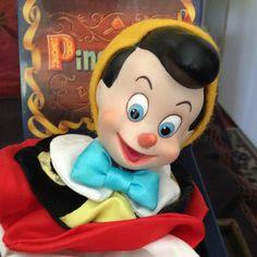 Pinóquio Caixinha Musical Disney Raríssima Lindos Detalhes - R$ 379,99 no MercadoLivre