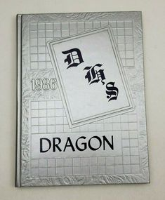 YEARBOOK 1986 Dragon Dawson County High School Welch, Texas Annual HB Lamesa High School Yearbook, Yearbooks, First They Came, Vocabulary, Texas, Dragon, Teaching, Dragons, Education
