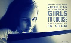 Exploring How Online Video Can Help Encourage Girls To Choose Careers In STEM (science, technology, engineering and mathematics) Stem Science, Online Video, Projects For Kids, Mathematics, Exploring, Fails, Career, Encouragement, Engineering