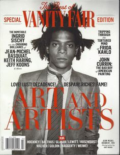 Vanity Fair Cover - Jean Michel Basquiat