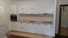 bucatarie kalithea.ro Kitchen Cabinets, Design, Home Decor, Decoration Home, Room Decor, Cabinets, Home Interior Design, Dressers