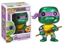 Television Vinyl Figure Donatello 9 cm #17 Teenage Mutant Ninja Turtles POP