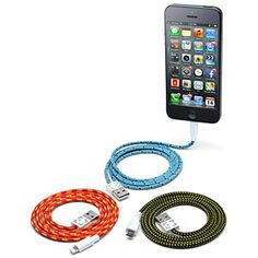 Eastern Collective Braided Fabric Smartphone Cables