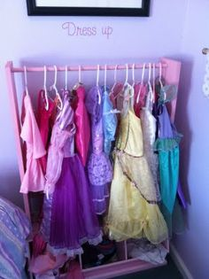 dress up closet idea