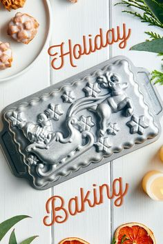 Our Holiday Bakeware Collection makes holiday baking easy and fun with our detailed baking pans. No deocration needed for a beauitful display or gift idea!