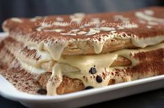 Millefoglie al tiramisu ricetta facile per feste e buffet arte in cucina