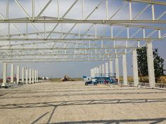 Hala Productie - Prolyte Industry | duna-steel.ro Louvre, Industrial, Steel, Building, Travel, Dune, Viajes, Buildings, Industrial Music