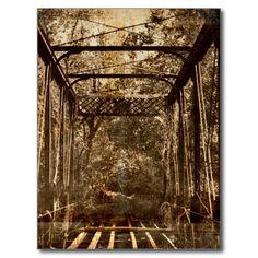 Old Deserted Bridge Postcards