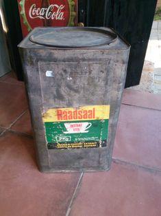 Advertising - Giant Vintage 7kg Raadsaal Coffee Tin!!! for sale in Bloemfontein (ID:322167439) Giant Vintage, Coffee Tin, Advertising, Canning, Decor, Decoration, Coffee Mug, Decorating, Home Canning