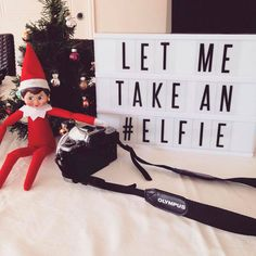 Easy Elf On The Shelf Ideas Have Poney request an ELFIE