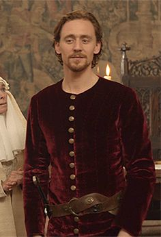 "Just Tom Hiddleston — ""But, in faith, Kate, the elder I wax, the better..."