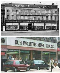 Rushworths. ... Liverpool History, Liverpool City, Theater Tickets, New Brighton, Old Photos, Beautiful Homes, Buildings, How To Memorize Things, Events