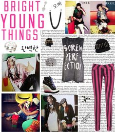 """""""G- Dragon and Taeyang for Vouge"""" by music-fashion-art-love ❤ liked on Polyvore"""