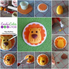Cupcake Toppers Made Easy: Lions