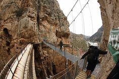 In beeld: het gevaarlijkste wandelpad in Spanje opnieuw geopend - Reizen - KnackWeekend.be