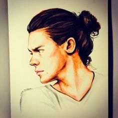 louis tomlinson and harry styles fan art Harry Styles 2015, Harry Styles Hair, Harry Styles Tattoos, Harry Styles Funny, Harry Styles Pictures, Estilo One Direction, One Direction Fan Art, One Direction Drawings, 5sos Fan Art