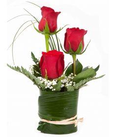 1000 images about centros de mesa on pinterest mesas - Centros de rosas naturales ...