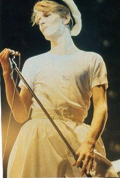 David Bowie 70s. Cute pout/duckface                                                                                                                                                                                 More