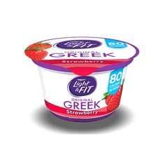 Creamy Dannon Light & Fit Greek nonfat yogurt has only 80 calories per serving and fat. Plus, it comes in a variety of delicious flavors. Diabetic Meal Plan, Diabetic Recipes, Healthy Recipes, Nonfat Greek Yogurt, Protein Supplements, Light Fittings, Coffee Cans, Meal Planning, Berries
