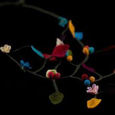 """""""colour rain"""" necklace"""