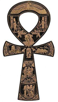 Ânkh (croix ansée ancienne Egypte)