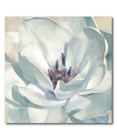 Look what I found on #zulily! White Flower II Wrapped Canvas #zulilyfinds