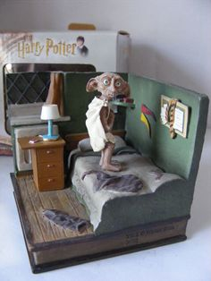 Harry Potter Very RARE Boxed Dobby Bookend Ornament Just Gorgeous | eBay
