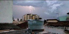 Tarde chuvosa em Caragua
