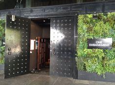 The entrance to our brilliant venue