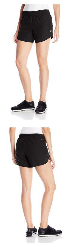 "$17 - New Balance Women's Accelerate 5"" Shorts Black #newbalance"