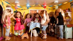 Dolly Dorm Diaries ~ Our American Girl Doll Blog Adventures : { GOTY 2014 Isabelle's Visit! } Part 1