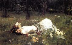 John William Waterhouse: Ophelia (Lying in the Meadow) by super freeparking, via Flickr