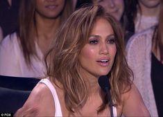 Felt something: Jennifer Lopez told American Idol singer Dalton Rapattoni that he was 'pre...