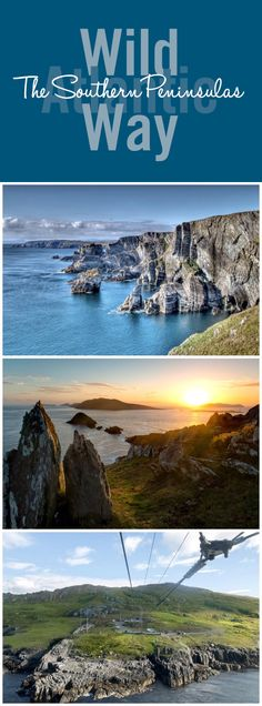 The five great peninsulas of the southwest knit together like a finely tuned melody. Answer the mysterious call of the deserted Blasket and Skellig Islands; or see if you can spy Mizen Head on the horizon from the Dursey cable car…