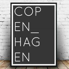 Scandinavian Wall posters - Metropolife