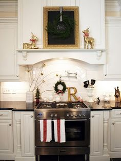 The funny thing is...I have everything in this photo and I would have never put it in my kitchen! Nicely done.