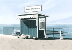 """ROCK SHOP"", Santa Monica Pier, Santa Monica"