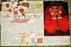 Samiske votter, artikkel om. Knit Crochet, Knitting, Cover, Books, Crocheting, Crochet, Libros, Chrochet, Tricot