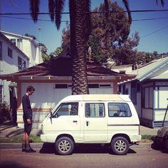 So cuuute! I love Japanese Mini-Van!!