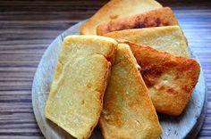 Panisse (cizrnový chlebíček, bez lepku) ~ Ze zahrady do kuchyně