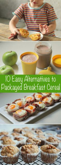 for Fresh Breakfast Suggestions for Your Kids? Here Are 10 Great Cereal Alternatives 10 Easy (and fabulous) Alternatives to Packaged Breakfast Cereal for Easy (and fabulous) Alternatives to Packaged Breakfast Cereal for Kids Breakfast For Kids, Breakfast Recipes, Breakfast Cereal, Breakfast Ideas, Dinner Recipes, Baby Food Recipes, Cooking Recipes, Easy Cooking, Healthy Cooking
